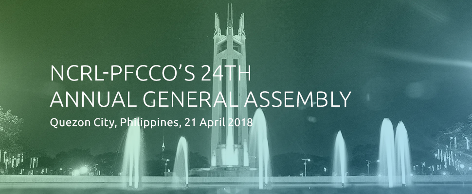 NCRL-PFCCO'S 24th Annual General Assembly